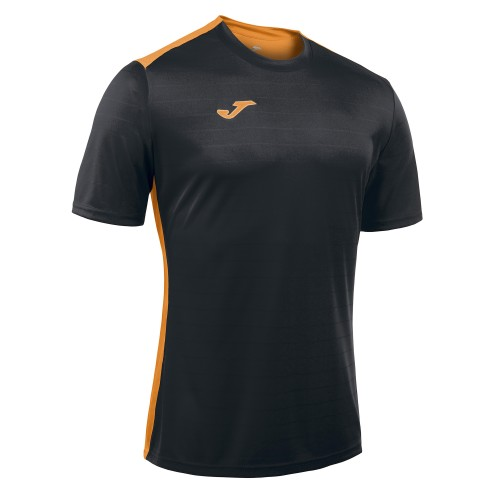 TRICOU JOMA CAMPUS II - NEGRU / ORANGE FLUOR