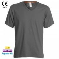 Tricou Clasic bumbac 100% V-NECK